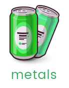 Metal, Tin Can, Aluminium Can, Iron, Copper